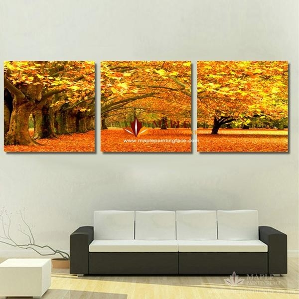 2018 Canvas Art Painting Modern Canvas Prints Artwork Of Landscape regarding Modern Wall Art Painting 29784