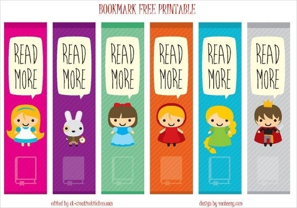 21+ Free Bookmark Templates – Free Sample, Example, Format Within intended for Bookmark Background Designs For Kids 26634