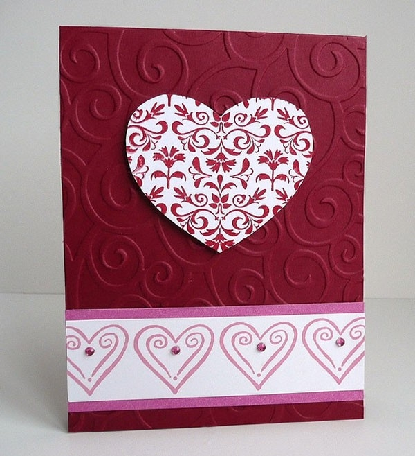 25+ Cute Happy Valentine's Day Cards | Lovely Ideas For Your Sweet pertaining to Cute Handmade Love Cards For Him 30228