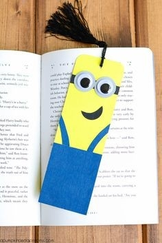 25 Diy Bookmarks For Kids | Bookmarks, Reading Time And Craft for Creative Bookmark Designs For Kids 29692