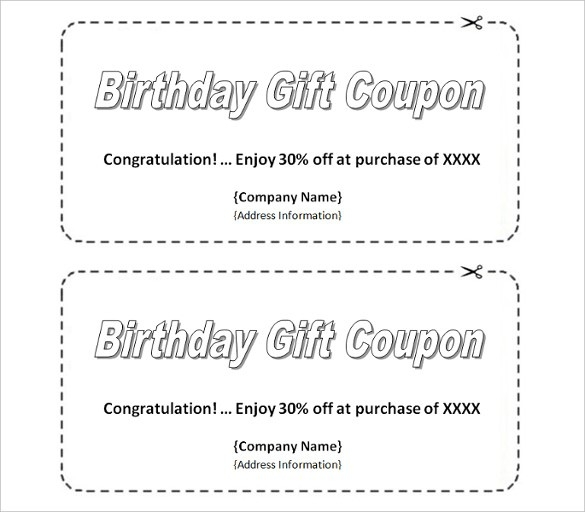 Homemade coupon design examples and forms for Create a coupon template free