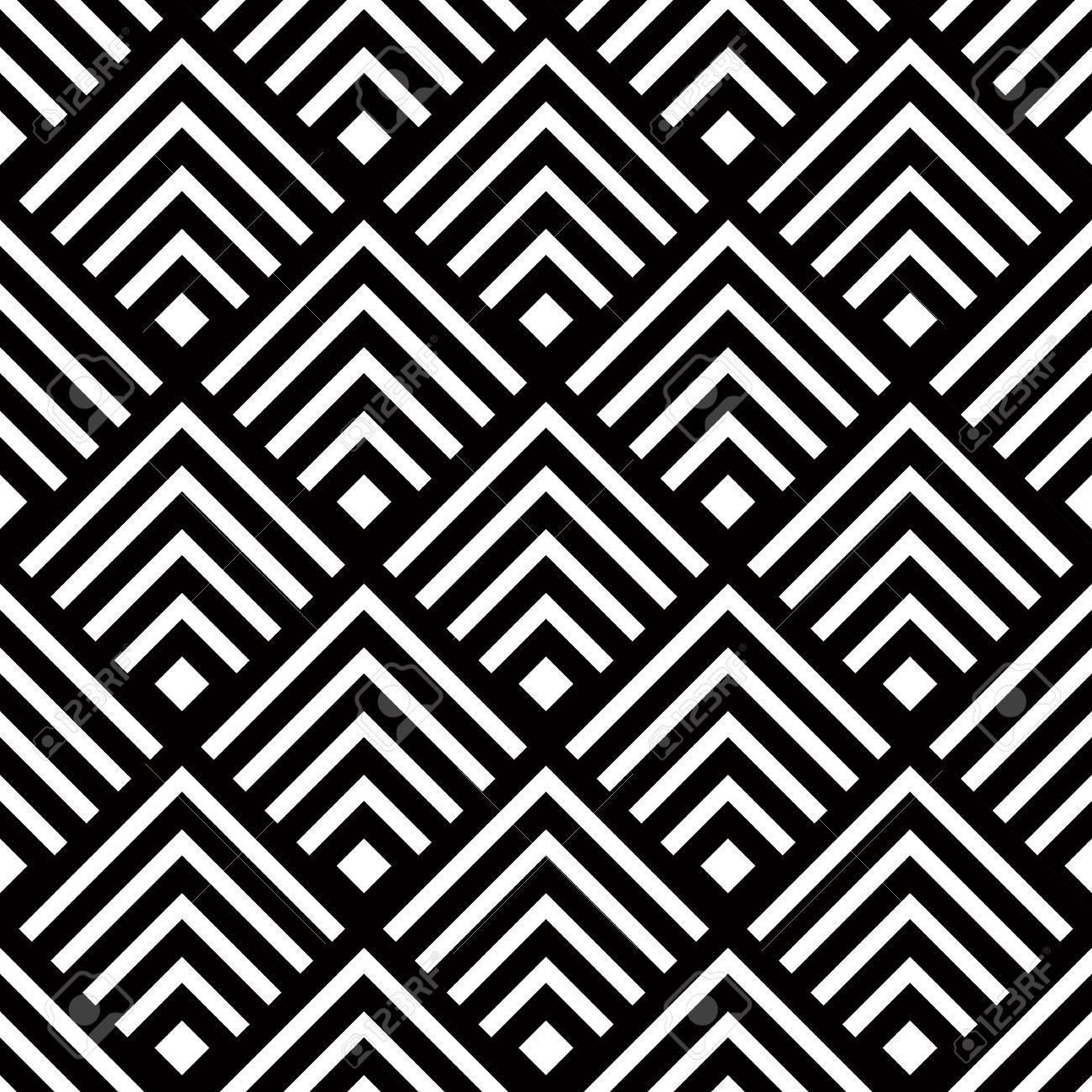 29722769-De-Fondo-Sin-Fisuras-Vector-Geom-Trico-Simple-Modelo-De within Simple Black And White Patterns Stripes 29824