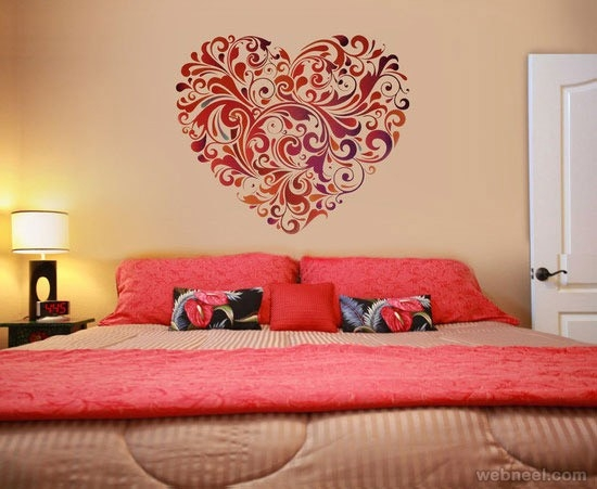 30 Beautiful Wall Art Ideas And Diy Wall Paintings For Your in Wall Art Paintings For Bedroom 28161