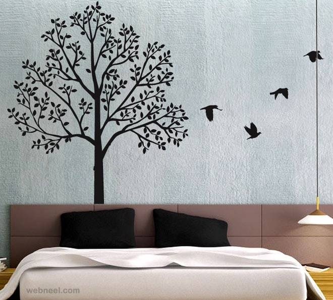 30 Beautiful Wall Art Ideas And Diy Wall Paintings For Your intended for Wall Art Paintings For Bedroom 28161