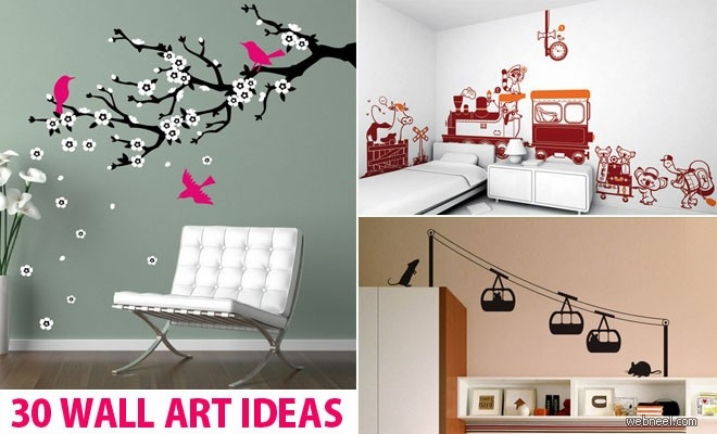 30 Beautiful Wall Art Ideas And Diy Wall Paintings For Your pertaining to Simple Wall Art Painting 29763
