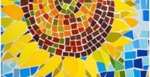 Construction Paper Mosaic Art