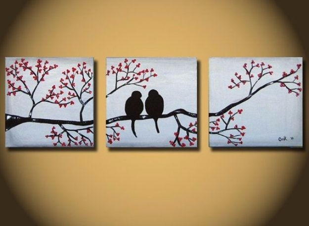 36 Diy Canvas Painting Ideas - Page 7 Of 8 - Diy Joy inside Easy Wall Art Painting Ideas 29804
