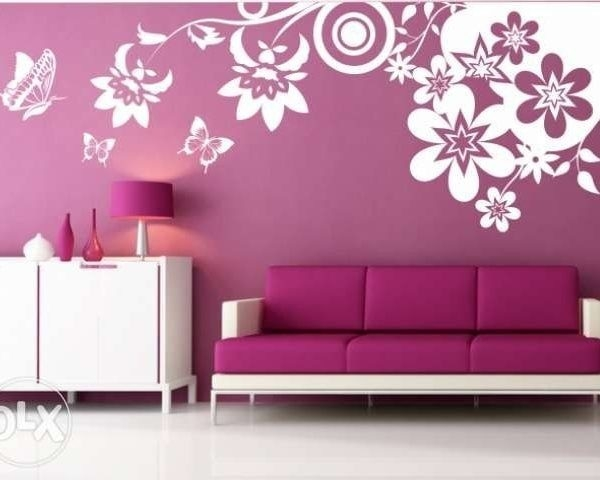 37 Best Wall Painting Ideas Images On Pinterest | Bedrooms with Creative Wall Painting Ideas For Living Room 30073