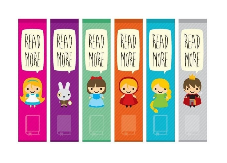 40 Free Printable Bookmark Templates - Template Lab intended for Bookmark Designs To Print 26614