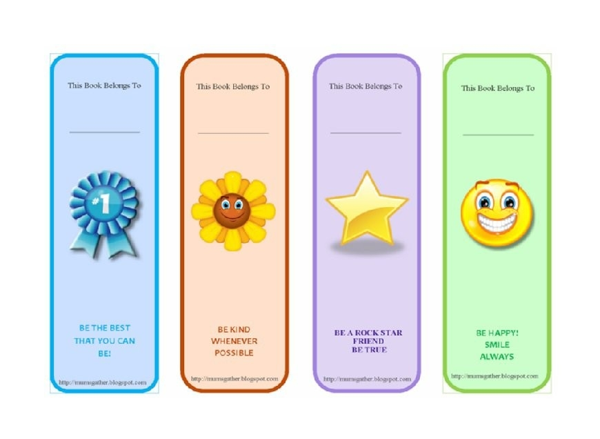 40 Free Printable Bookmark Templates - Template Lab throughout Bookmarks For Books Template 27240