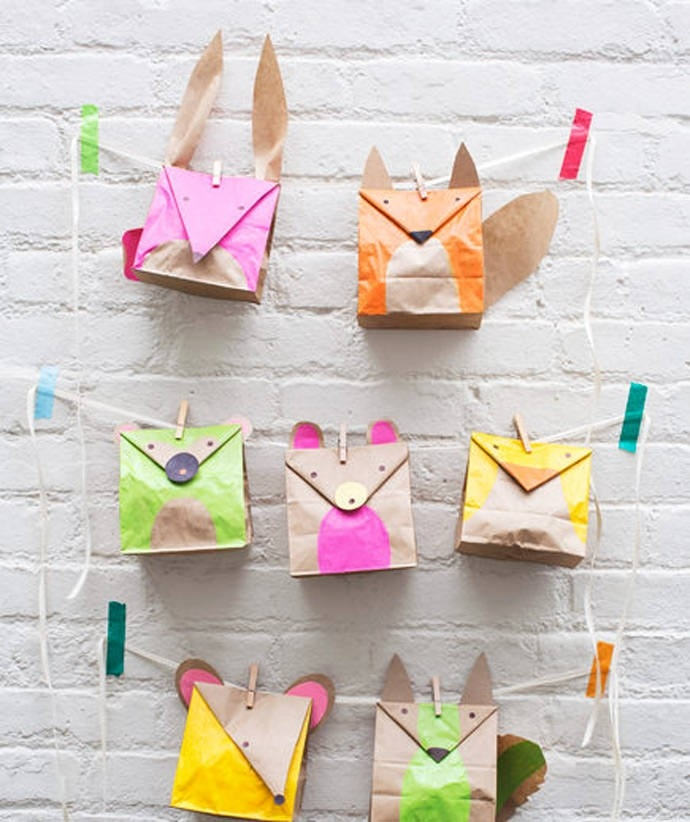 6 Awesome Paper Bag Crafts For Kids pertaining to How To Make Handmade Paper Bags At Home Step By Step 27595
