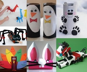 60 Homemade Animal Themed Toilet Paper Roll Crafts - Hative with regard to Tissue Paper Roll Crafts Animals 29098