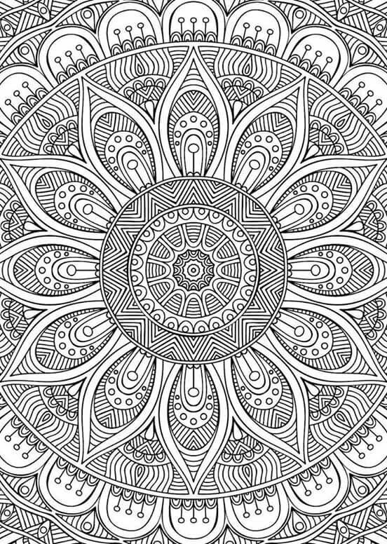 85 Best Coloring Sheets Images On Pinterest | Coloring Pages throughout Detailed Mandala Coloring Pages For Adults 29491