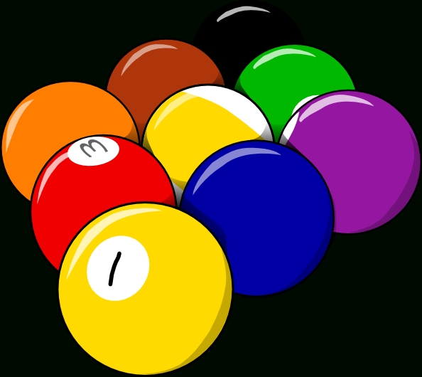 9 Ball Form Clip Art At Clker - Vector Clip Art Online with Form Art Png 25833
