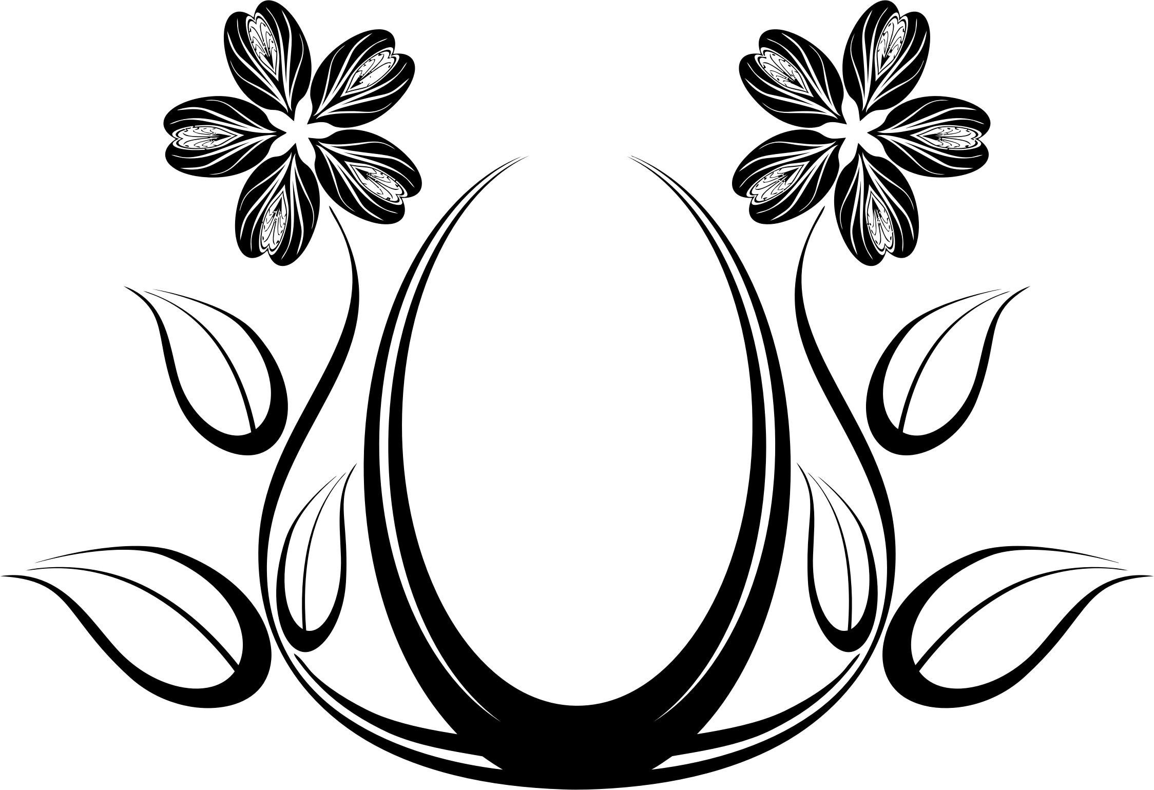Abstract Floral Design Icons Png - Free Png And Icons Downloads for Black And White Flower Abstract Png 29918