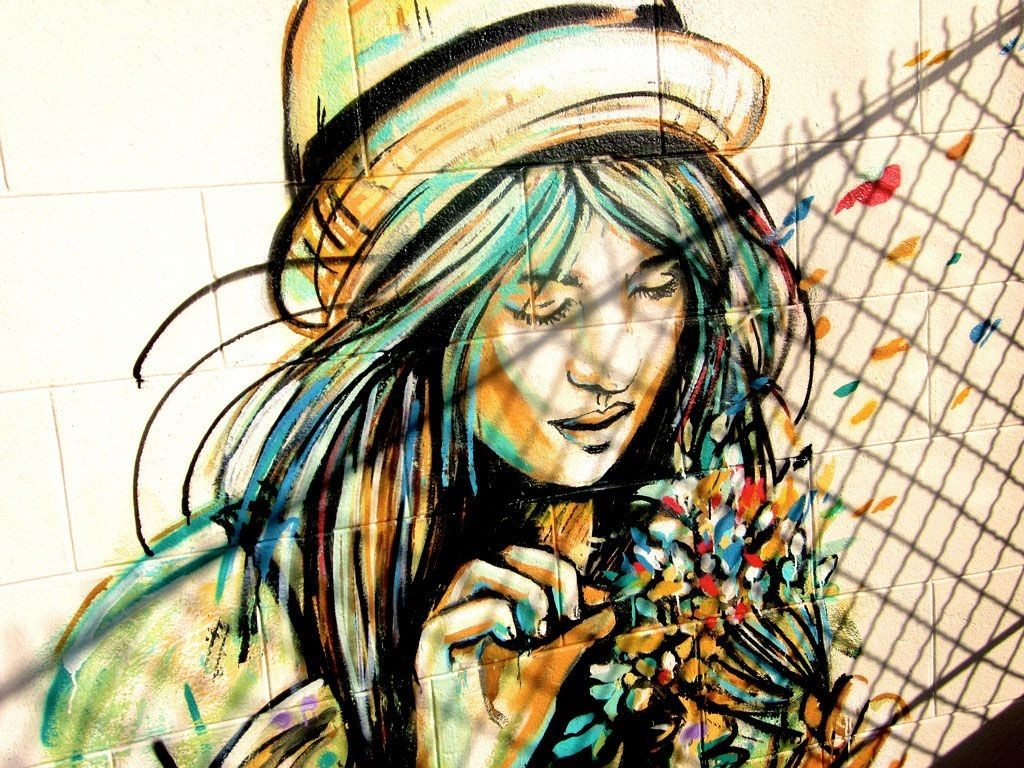 Alice Pasquini | [Five] | Pinterest | Abstract Oil, Abstract Oil with regard to Street Wall Painting Wallpapers 29949
