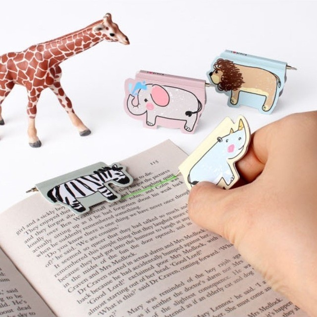 Aliexpress : Buy I Love Africa Animal Bookmarks Magnetic within Creative Bookmarks For Books 29753