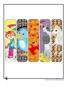 Animal Bookmarks For Kids throughout Cool Animal Bookmarks To Print 26644