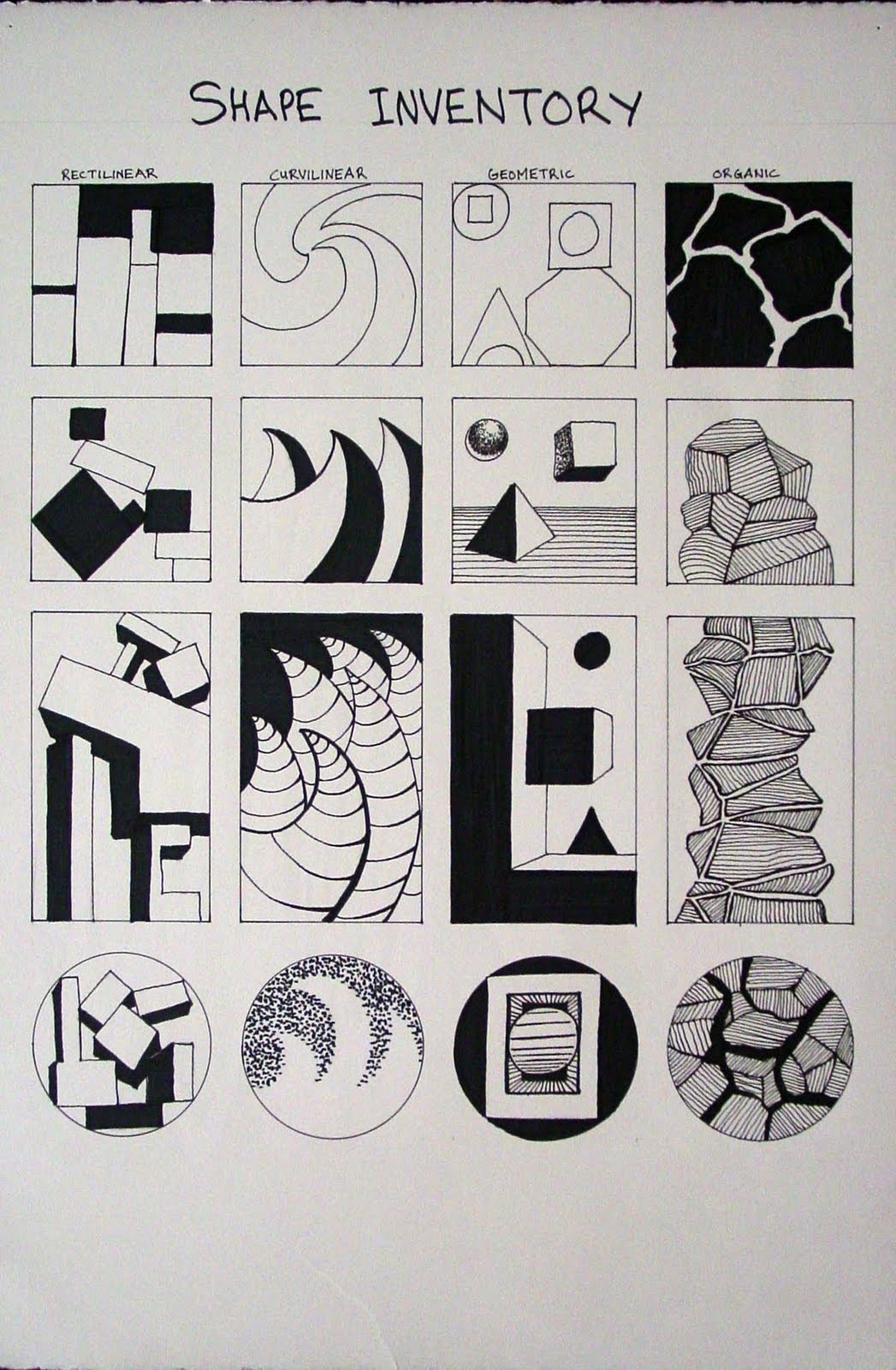 Art 3 Intro To Art And Design With William Smith: Shape: Inventory throughout Organic Shapes In Nature Art 25643