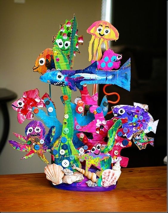 Art And Craft Ideas For Kids Using Recycled Materials | Ye Craft Ideas in Art And Craft Ideas For Kids Using Recycled Materials 27670