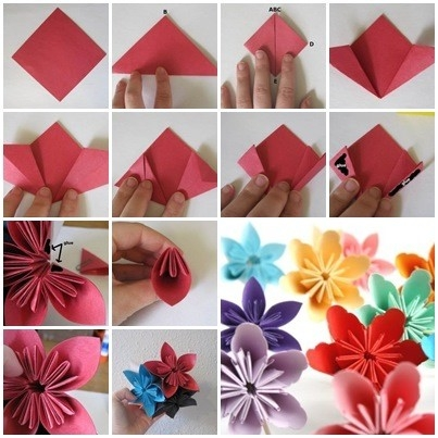 Art And Craft Paper Folding - Craftshady - Craftshady within How To Make Cute Paper Crafts 26915
