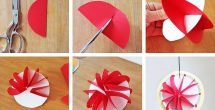 Art And Craft Work With Paper Step By Step