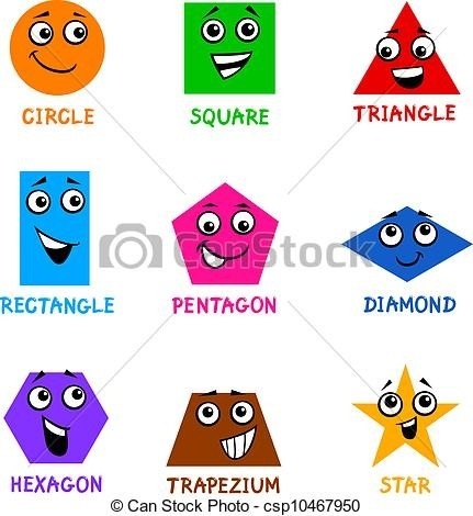 Basic Shapes Clipart within Shapes Clip Art 24990