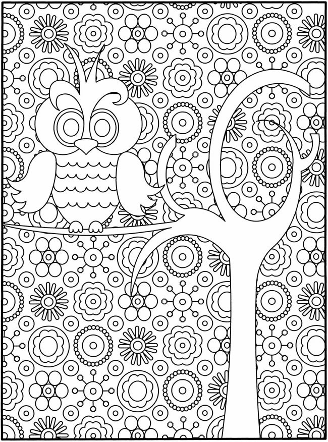 Beautiful Coloring Page - For Older Kids - For Free | Kids regarding Detailed Coloring Pages For Older Kids 29441