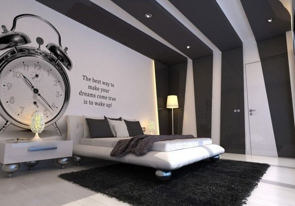 Bedroom Wall Paint Design Black And White – Bedroom Wall ...