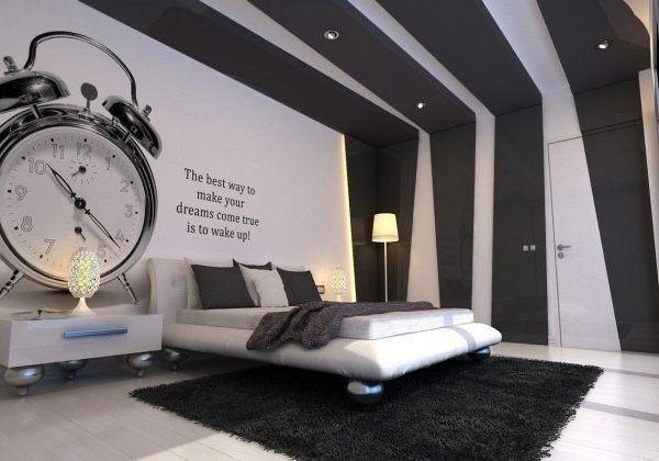 Bedroom Wall Paint Design Black And White – Bedroom Wall Design intended for Bedroom Wall Painting Designs Black And White 30010
