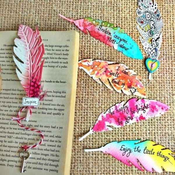 Best 25+ Homemade Bookmarks Ideas On Pinterest | Book Marks Diy within How To Make Bookmarks At Home Easy Designs 27160