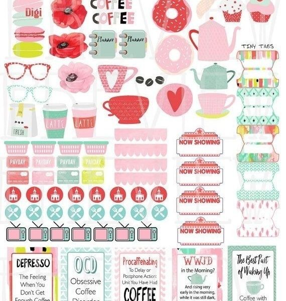 graphic about Free Printable Functional Planner Stickers referred to as Simplest 25+ Planner Stickers Programs Upon Pinterest Totally free