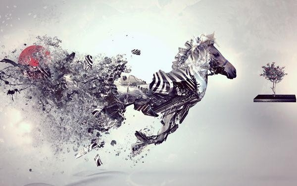 Best Cheap Modern Art Paintings Abstract Toy Horse Famous Artists in Wall Art Painting Techniques 29775