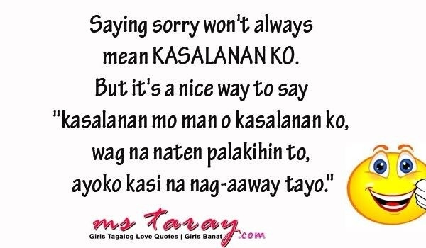 Best Tagalog Sorry Quotes – Taray With Regard To Sweet Sorry inside Sweet Sorry Quotes For Boyfriend Tagalog 28544