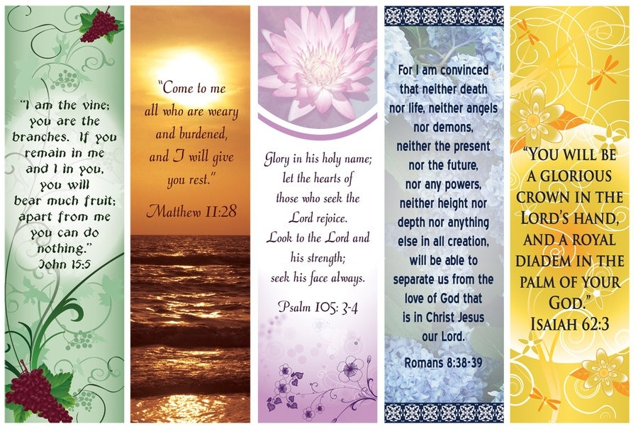 Bible Verse Bookmarks By Dawnchaser On Deviantart regarding Bookmark Background Designs About God 27180