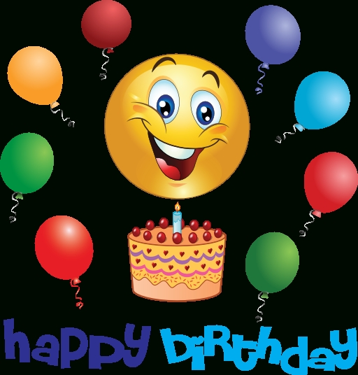 Birthday Boy Smiley | Smiley, Happy Birthday And Gifs intended for Birthday Smiley Faces Clip Art 28375