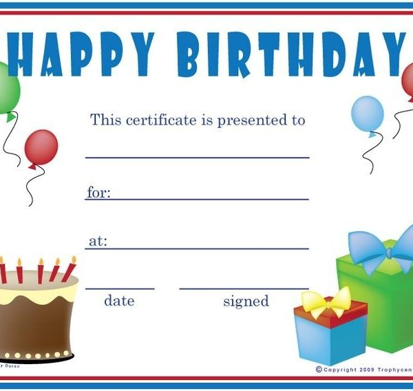 Birthday gift certificate template free printables pinterest birthday gift certificate template free printables pinterest regarding birthday coupon template yelopaper Gallery