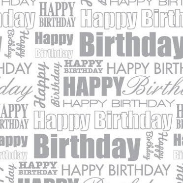 Birthday Gift Wrapping Paper Printable | Printables And Charts intended for Birthday Wrapping Paper Black And White 29501