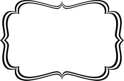 Black And White Label Templates Png | Template for Black And White