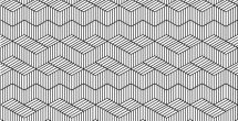 Simple Black And White Line Patterns