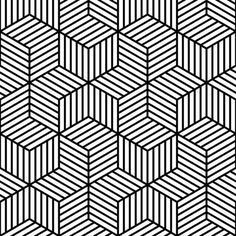 Black And White / Pattern Design / Optical Art / Lined | Zentagle with Simple Black And White Geometric Patterns 29866