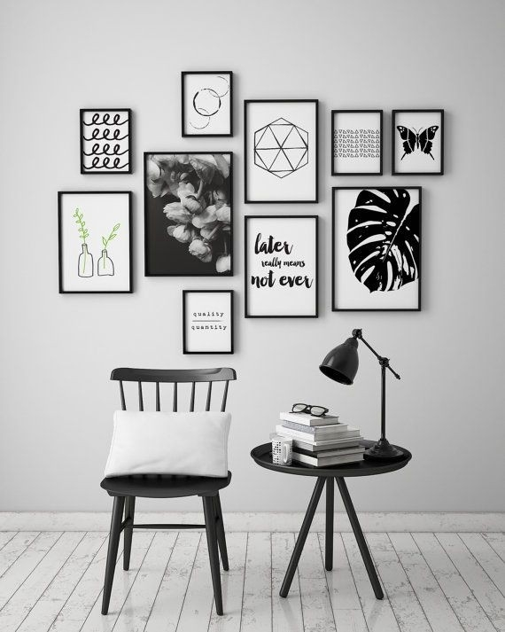 Black And White Pictures For Walls Best 25 Black And White Wall for Black And White Art Ideas 28170