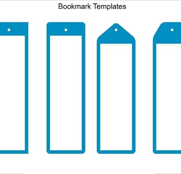 Blank Bookmark Template – 135+ Free Psd, Ai, Eps, Word, Pdf Format for Bookmark Background Designs For Kids 26634