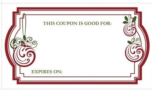 Blank Coupon Design | Flogfolioweekly with Blank Coupon Design 30318