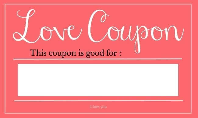 Blank Printable Love Coupons For Him | Journalingsage throughout Blank Love Coupons Template 30358