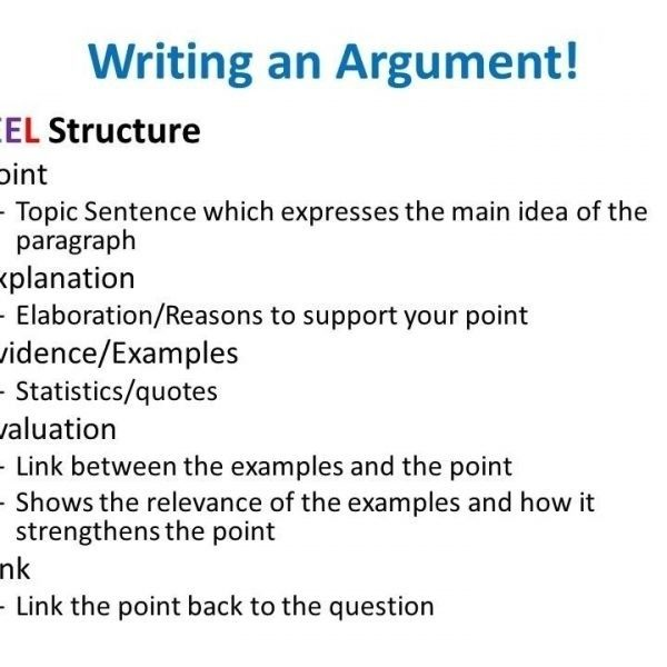 Body Paragraph Structure Example | World Of Example In intended for ...