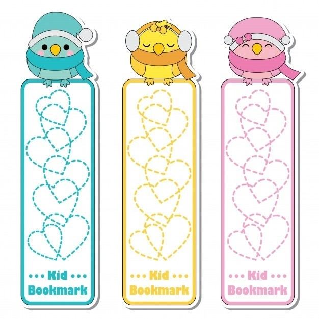 Bookmark Background Designs For Kids | World Of Example for Bookmark Background Designs For Kids 26634
