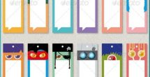 Bookmark Background Designs For Kids