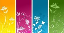 Bookmark Background Designs Pink
