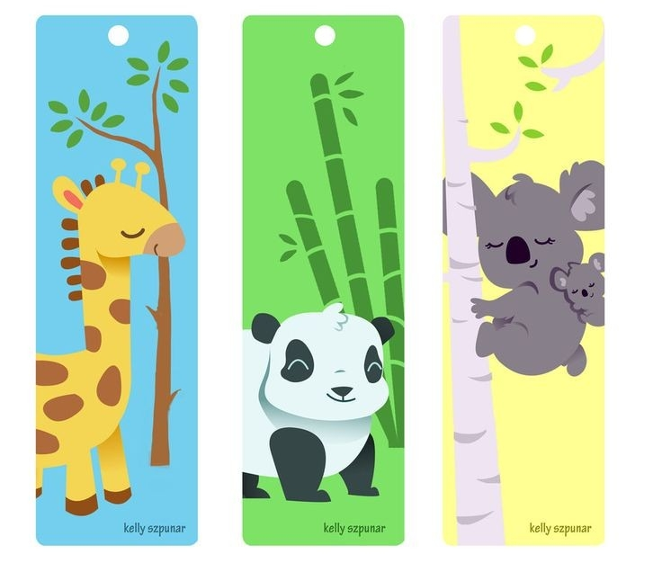 Bookmarks - Buscar Con Google | Motivos Japoneses | Pinterest throughout Cool Animal Bookmarks To Print 26644